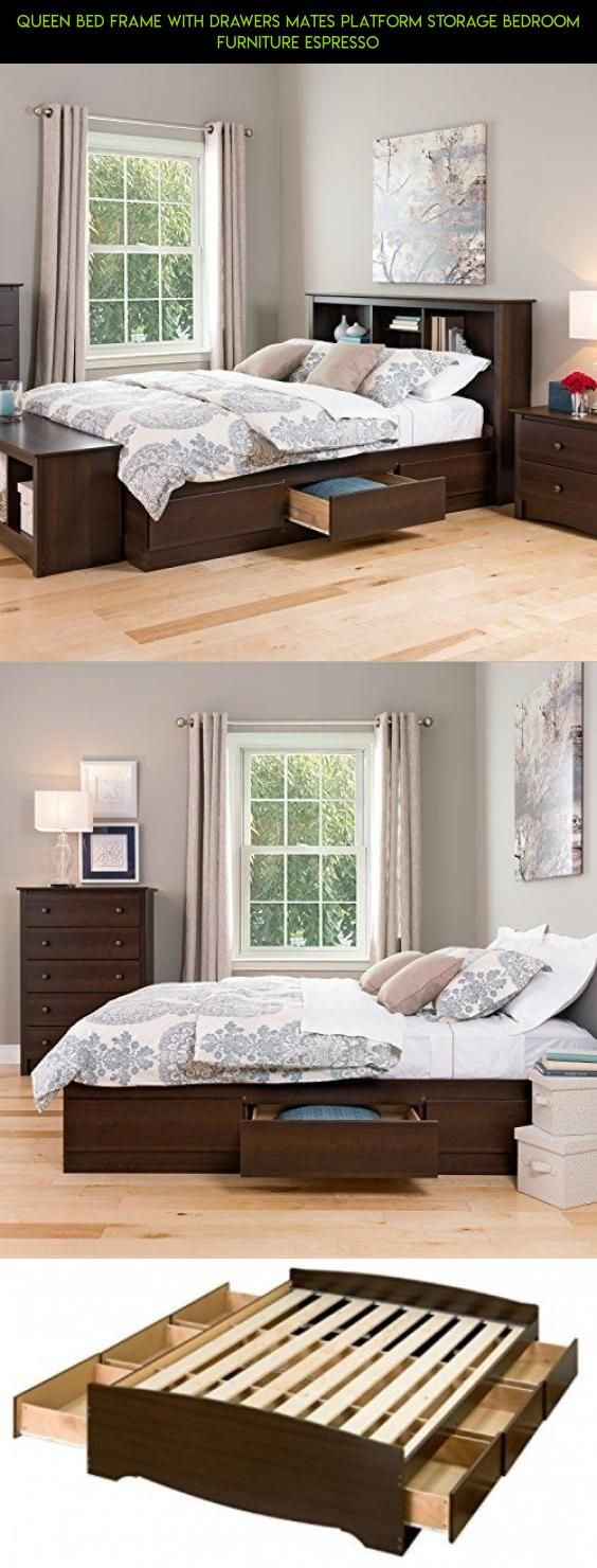Bed furniture with drawers - Best 25 Bed Frame With Drawers Ideas On Pinterest Bed With Drawers Platform Bed With Drawers And Bed Frame Storage
