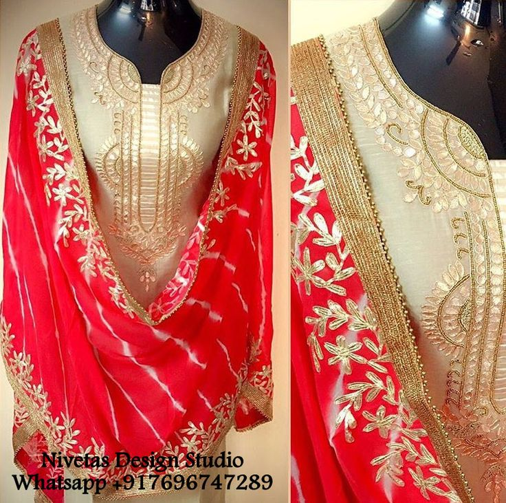 @Nivetas To place place order and for more query whatsapp +917696747289 #WeddingPunjabisuit #CustommadebridalPunjabisuit #WeddingPunjabisuitdesigner #CustomizebridalPunjabisuit #CustomizationbridalPunjabisuit #IndianbridalPunjabisuit #DesignerofbridalPunjabisuit #Bridalembroiderywork #SikhweddingPunjabisuit #BridalPunjabisuit #Punjabisuitforwedding #WeddingPunjabisuitmakersinindia-punjab #BridePunjabisuitsuitanddresses #Bridalsuits #Bridalfashiondesign