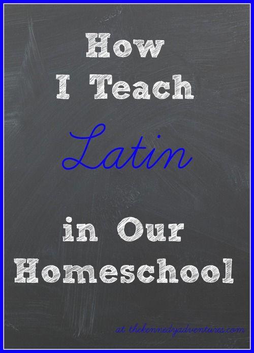 Salvete! How We Teach Latin in Our Homeschool @diannakennedy