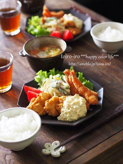●トイロ亭(おうちごはん)|トイロ オフィシャルブログ「トイロイロ ***happy color life***」Powered by Ameba