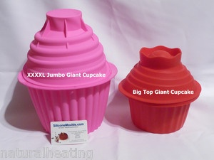 LILAC MASSIVE XXXXL Jumbo GIANT Cupcake Mold Silicone Bakeware Cake Mould Pan | eBay