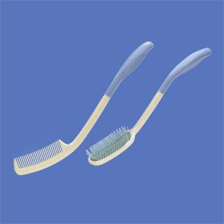 Beauty Comb Set - Soft rubber ends