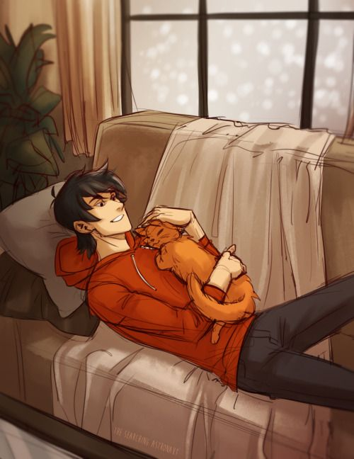 more with with his cat :3