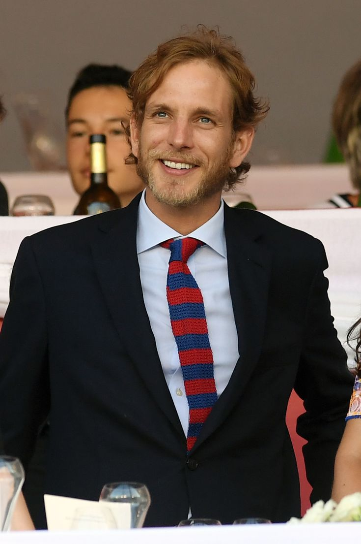 Andrea Casiraghi, Grace Kelly's grandson via Princess Caroline and Stefano Casiraghi.