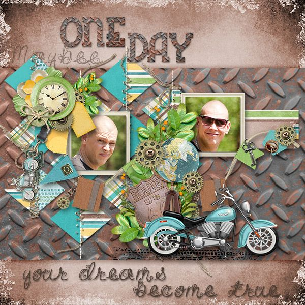 Scrapkit ManCave by KathrynEstry http://bit.ly/1SK4qrf MosaicTemplate by ConniePrince  Photos by kpmelly