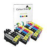 #10: Colour Direct - 10 Compatible Ink Cartridges - 29XL Replacement For Epson Expression Home XP-235 XP-245 XP-247 XP-332 XP-335 XP-342 XP-345 XP-432 XP-435 XP-442 XP-445 Printers. 4 X 2991 2 x 2992 2 X 2993 2 X 2994 ( 10 Inks ) #movers #shakers #amazon #electronics #photo