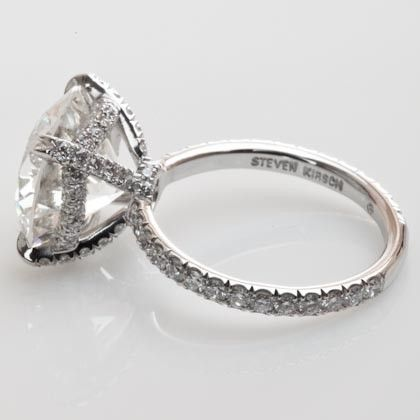 """Also from Steven Kirsch: the """"Preciosa"""" ring. Too big for my liking (and budget) but the setting is so pretty!"""