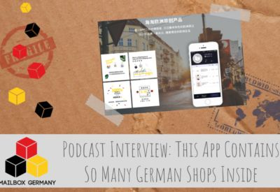 Dongxii: This App Contains So Many German Shops Inside (Podcast Interview) #english #englisch #business #mailbox #germany #logistics #infrastructure