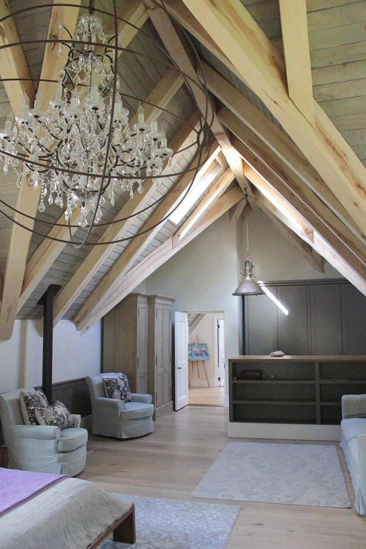 The main bedroom in one of our client's beautiful home. #roofing #ceiling #bedroom