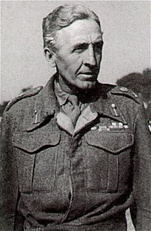 Lieutenant-General Sir Brian Gwynne Horrocks, KCB, KBE, DSO, MC (7 September 1895 – 4 January 1985) was a British Army officer. He is chiefly remembered as the commander of XXX Corps in Operation Market Garden