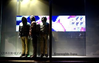 www.retailstorewindows.com: Ermenegildo Zegna, Harrods, London