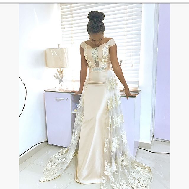 KATHYANTHONY FASHION ACADEMY Gorgeous bridal dress made by our lovely graduate @naomiepevun I wish you all the best dearie... 😘 Next batch resumes in February and registration has started...for more information about how to register, pls send an email to kathyanthonyng@gmail.com Thanks