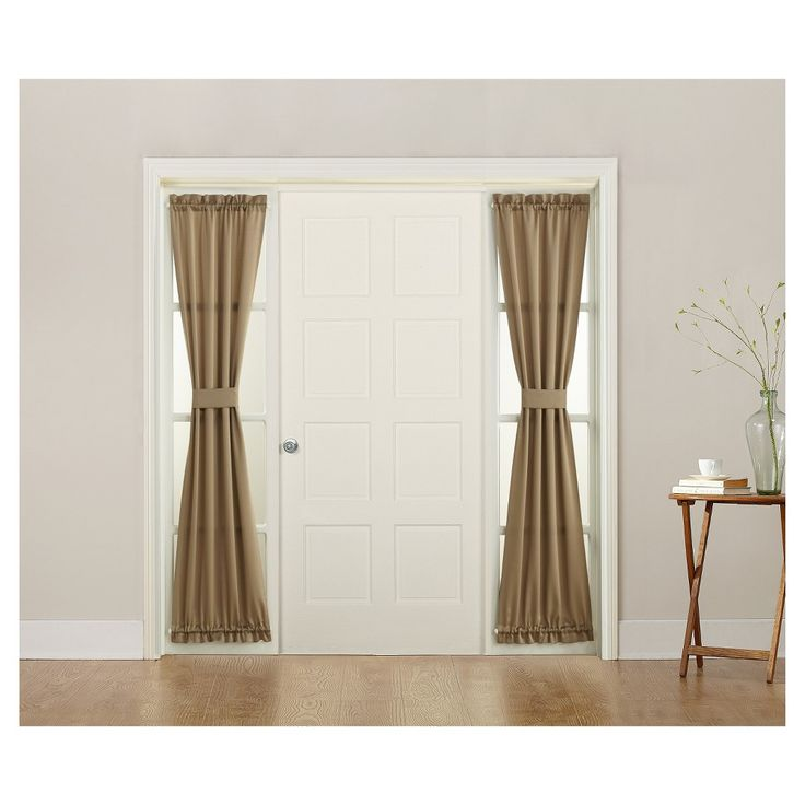 25 Best Ideas About Sidelight Curtains On Pinterest Front Door Curtains Vintage Window