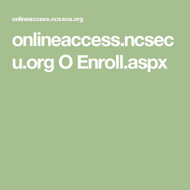 onlineaccess.ncsecu.org
