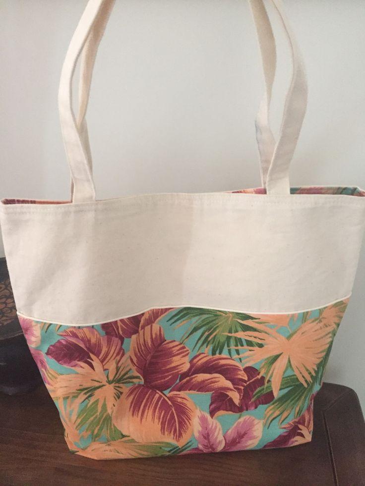 Bolsa De Praia Feita De Tecido : Melhores ideias sobre sacolas de praia no