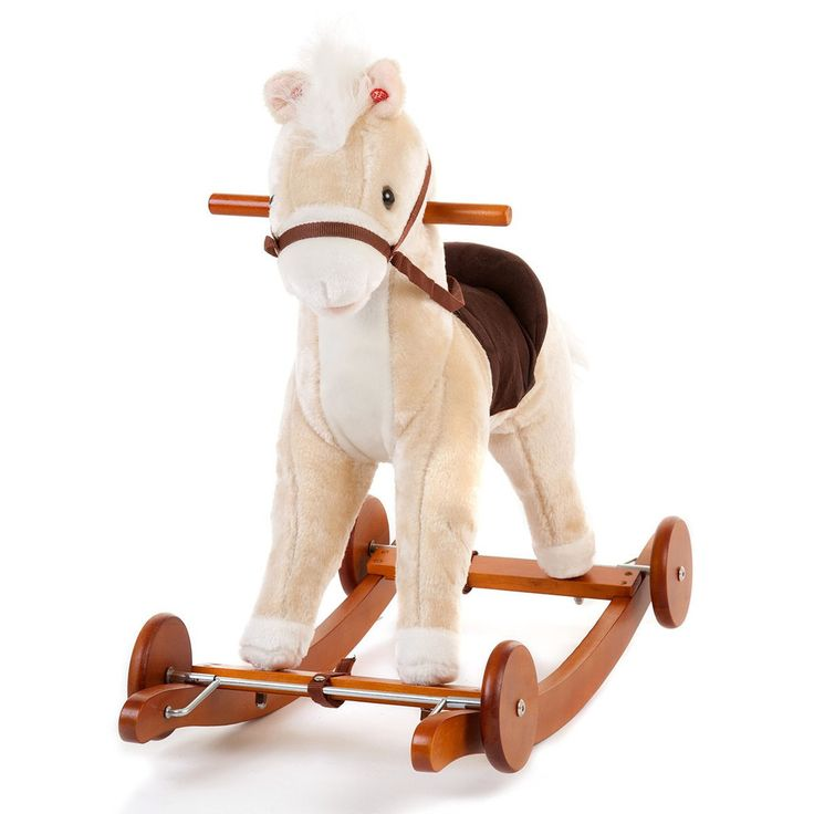 Tigris Wholesale Kids' Light Brown Wooden Toy Rocking Horse - Availability: in stock - Price: £34.99 http://chillax4u.com/products/tigris-wholesale-kids-light-brown-wooden-toy-rocking-horse