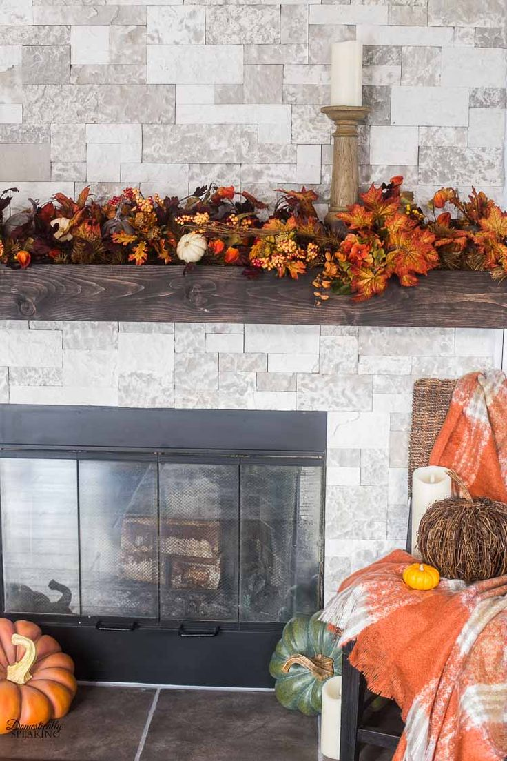 Build Your Own Rustic Fireplace Mantel | Rustic fireplace ...