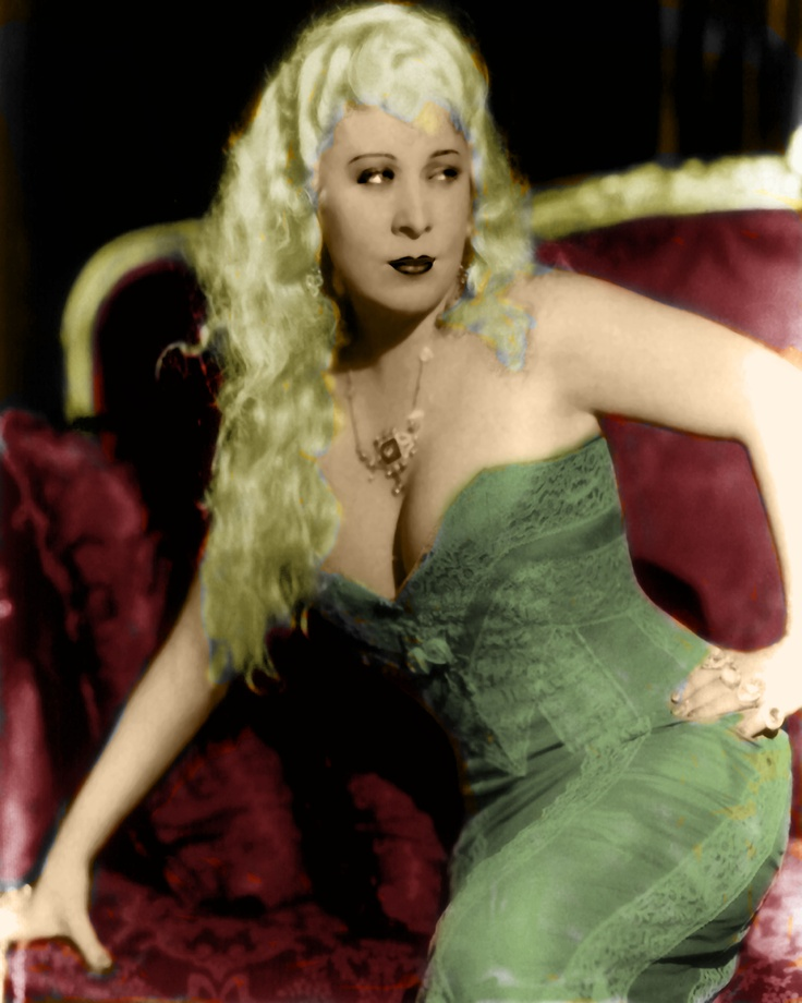 Mae West, colorized by me.