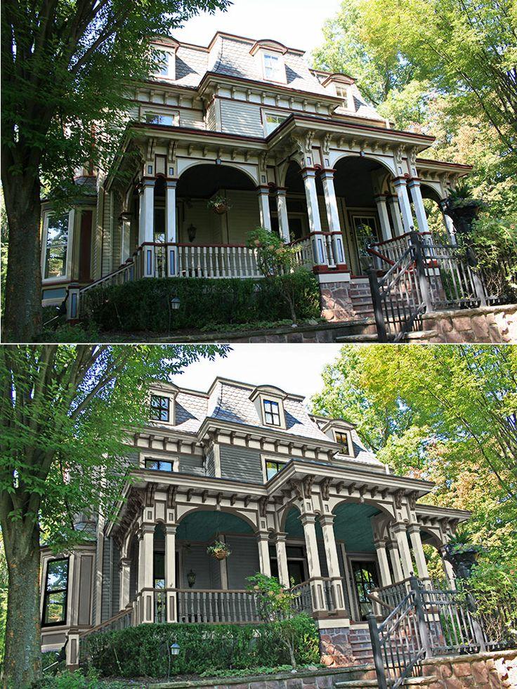 186 Best Old House Restorations Historic Paint Colors