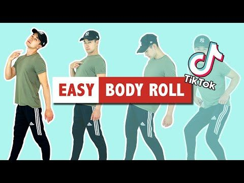 How To Body Roll The Easy Way Popular Tiktok Dance Move Youtube Dance Moves Dance Body