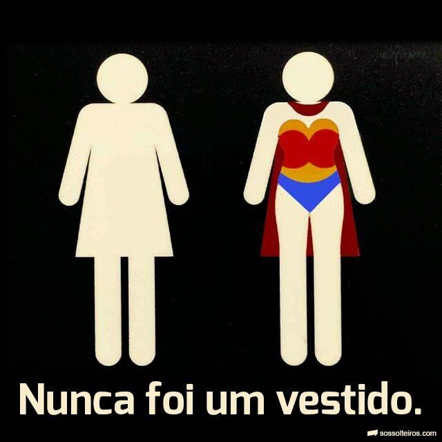A verdade por trás do símbolo do banheiro feminino