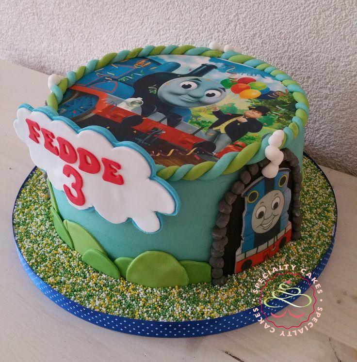Thomas the train cake / Thomas de Trein taart