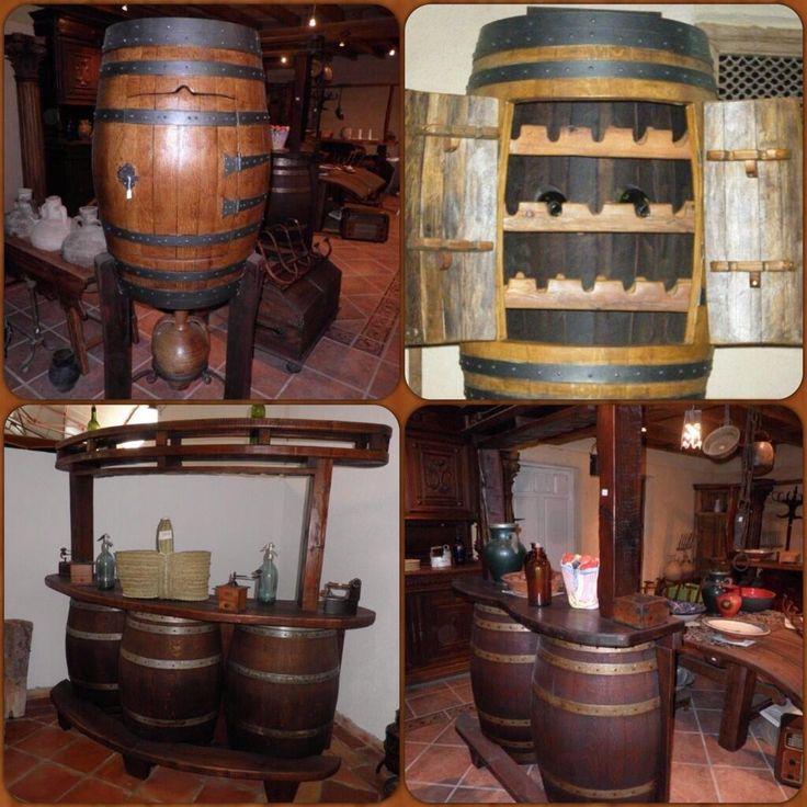 26 best muebles para el vino images on pinterest bottle for Muebles para bar