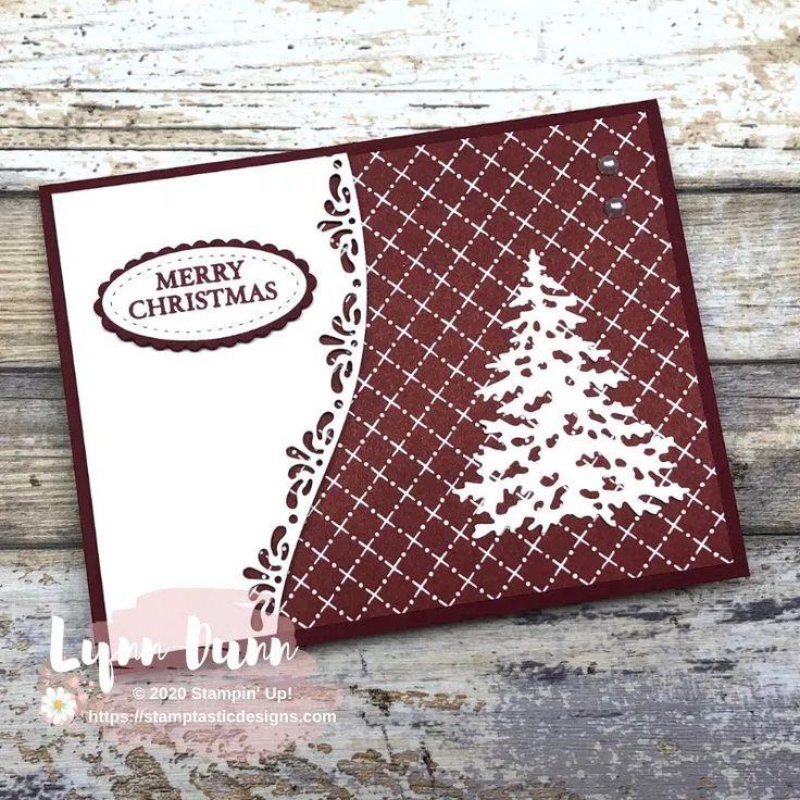curvy christmas  quick and easy card ideas  lynn dunn
