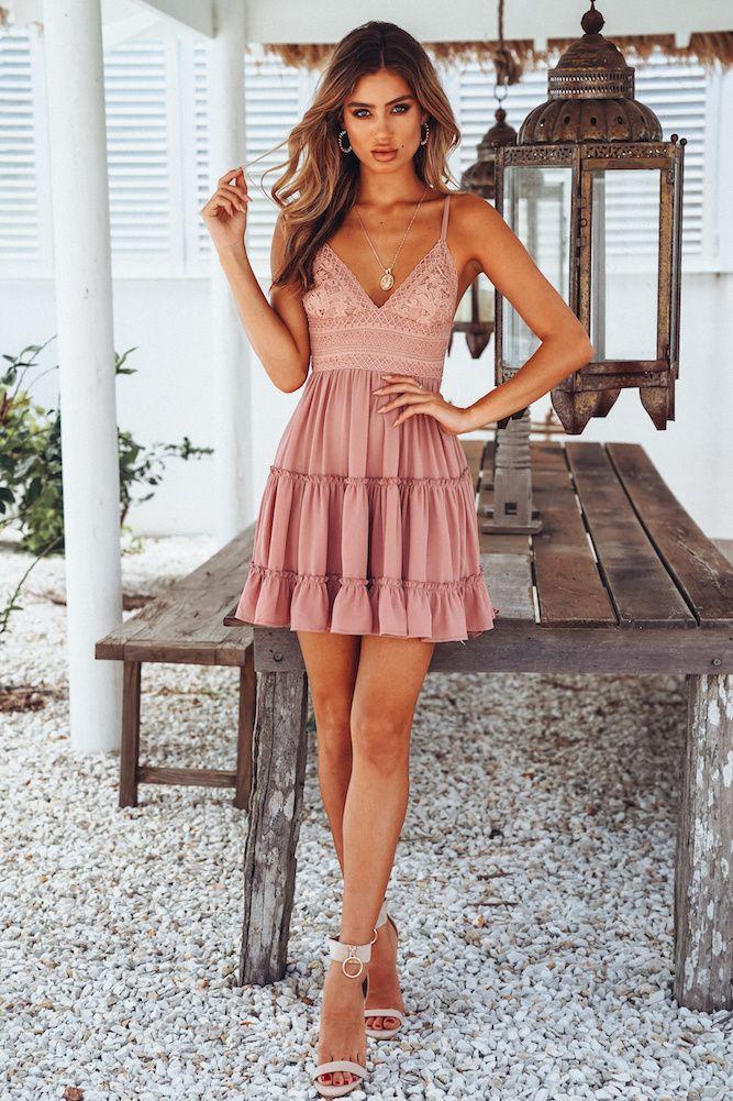 db409685b1aa9 Girls White Summer Dress Spaghetti Strap Bow Dresses Sexy Women V-Neck  Sleeveless Beach Backless Lace Patchwork Dress Vestidos. Our Standing  Waiting #Dress ...