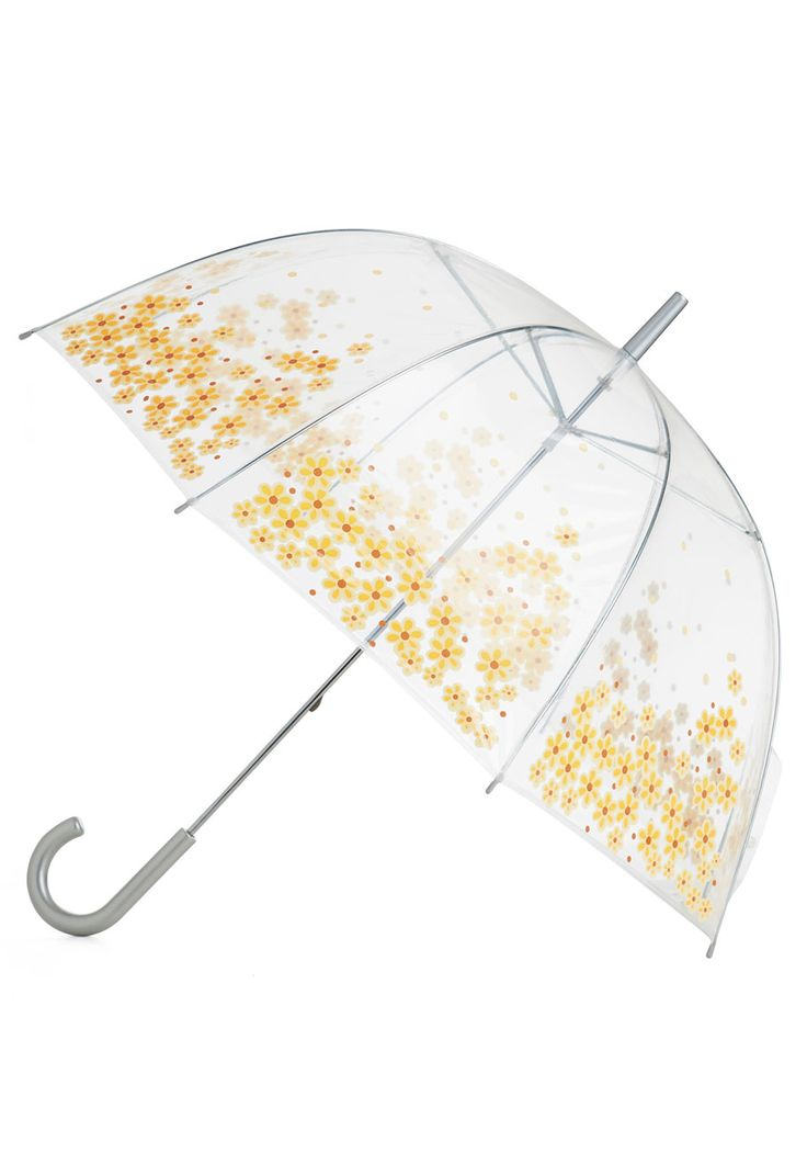 In case of sudden summer storms! Rainy Daisy Umbrella | Mod Retro Vintage Umbrellas | ModCloth.com  #lovestyle