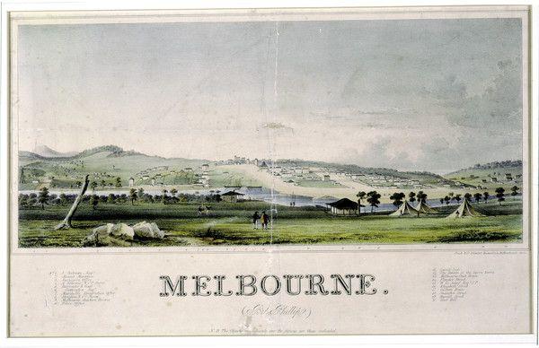 Melbourne 1830s - Bing images