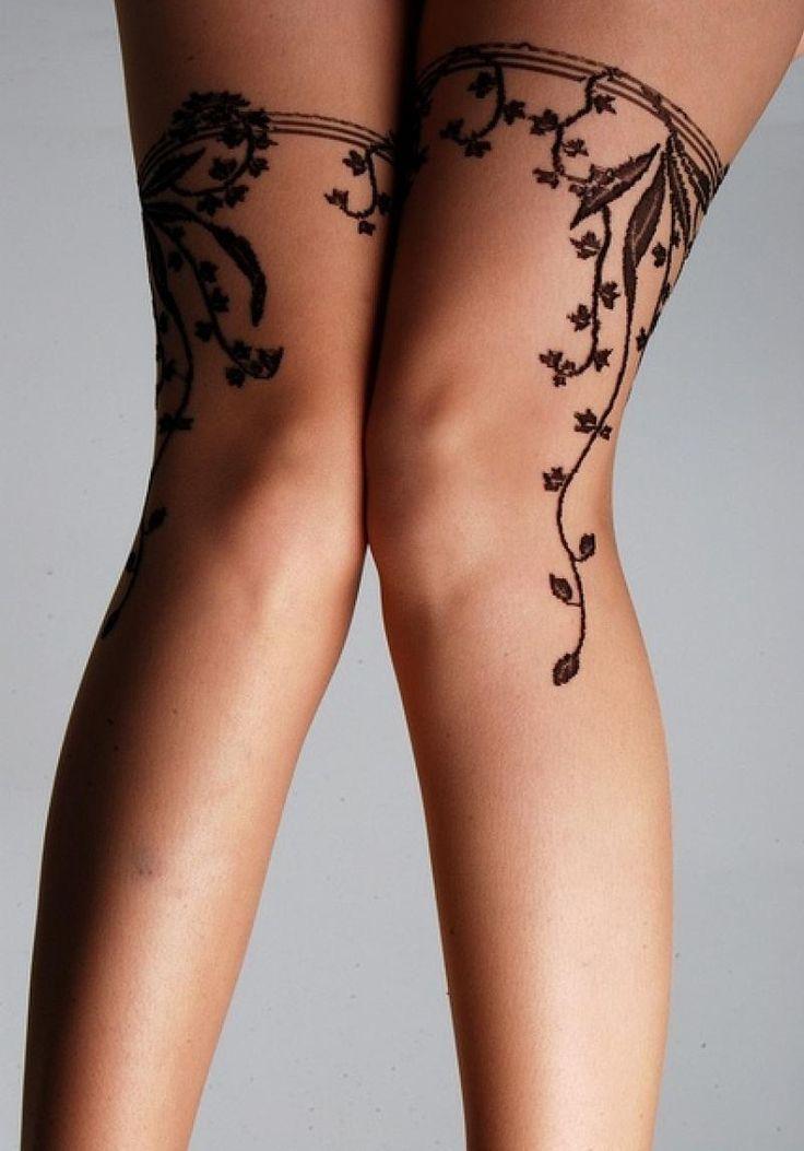 garter belt tattoo