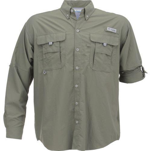 Columbia Sportswear Men's Bahama II Shirt (Brown Medium, Size Small) - Men's Outdoor Apparel, Men's Fishing Tops at Academy Sports