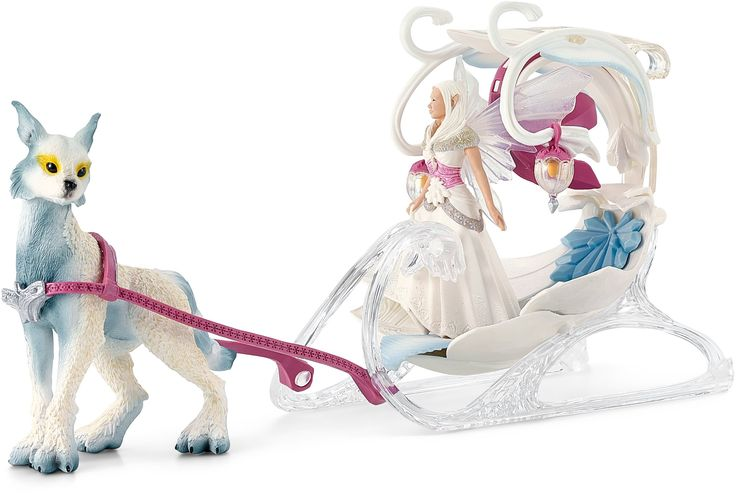 Amazon.com: Schleich Bayala Ice Sleigh Figure: Toys & Games