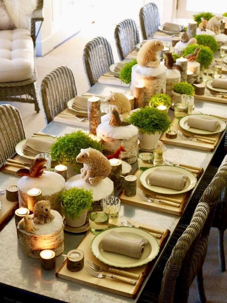 1280 best Christmas Table Decorations images on Pinterest ...