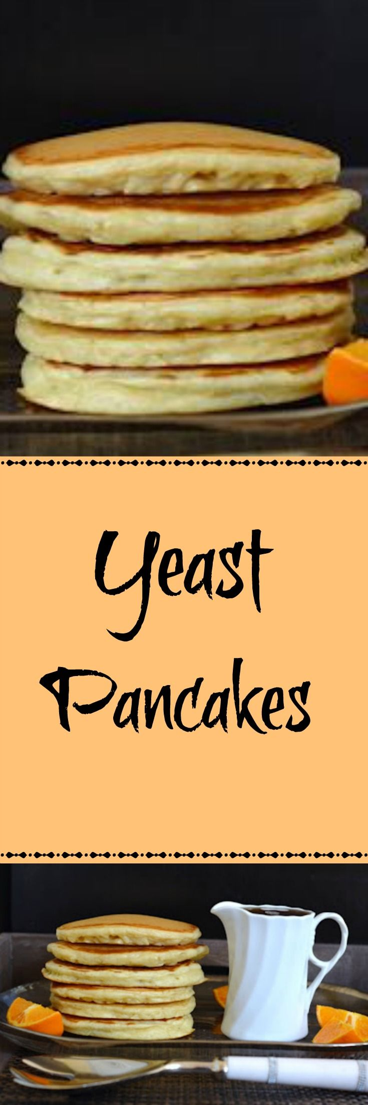 Fluffy and light pancakes with a subtle yeast flavor and aroma. Perfect for everyday breakfast or special occasions. Recipe at redstaryeast.com.