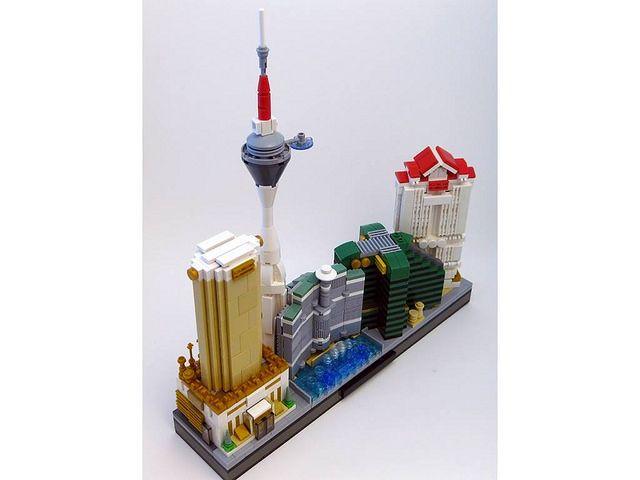 Skyline Las Vegas Lego Architecture Lego Las Vegas