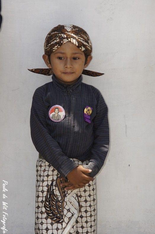 Little Soldier, Sultan Palace, Yogyakarta, Java, Indonesia