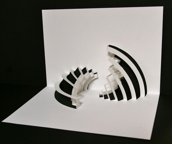 1320 best kirigami images on pinterest papercutting for Kirigami paper art