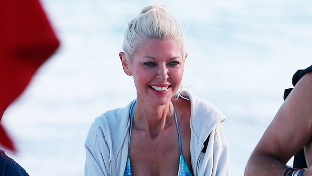 While vacationing in Mexico, Tara Reid proudly rocked a blue bikini on the beach, despite years of criticism for being 'too thin.' See the pics here!