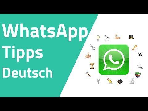 Die 10 besten WhatsApp Tipps und Tricks - YouTube
