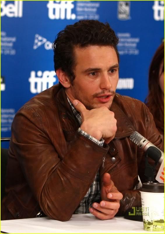 James Franco - stars in Spring Breakers