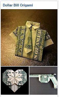 10 Clever Dollar Bill Origami Ideas