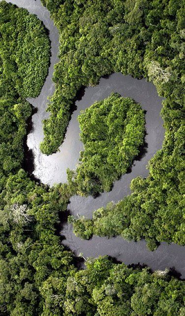 Rio Amazonas, Brazil