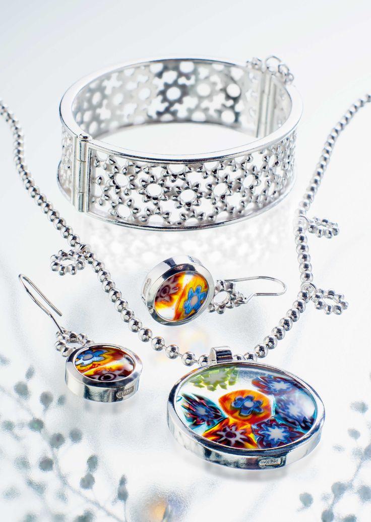 Millefiori collection, Design Kirsti Doukas, Kalevala Jewelry