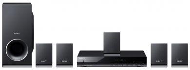 Sony TZ140 - 5.1-kanałowe kino domowe zdźwiękiem przestrzennym, odtwarzaczem DVD, interpolacją obrazu do jakości bliskiej HD oraz łączami USB iHDMI®. http://www.sony.pl/product/hcs-surround-kit---dvd-player/dav-tz140