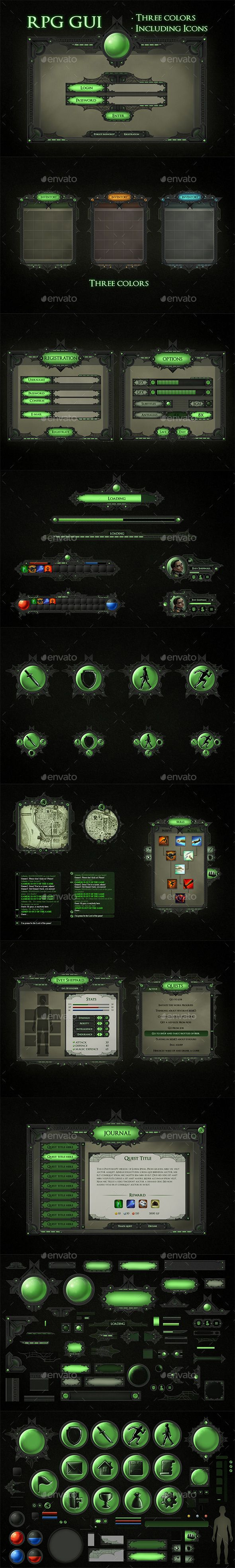 Pin by Cool Design on Game Assets Game interface