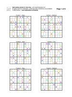 Web Sudoku - Design your Sudoku Ebook