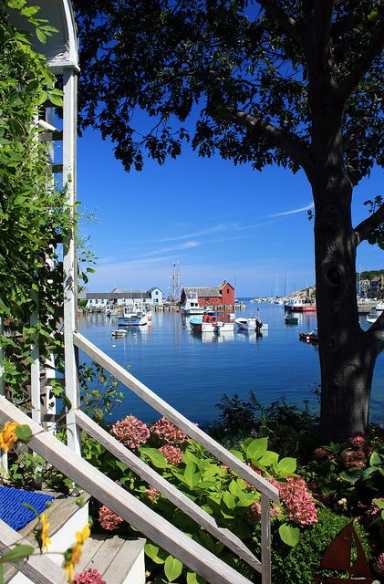 Rockport, Massachusetts. Imagine waking up to this view every morning.