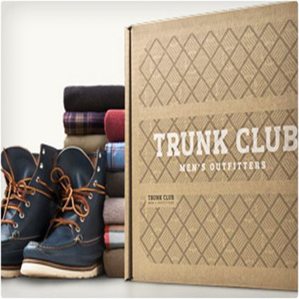 Trunk Club ~ Here's a way for those with no sense of style to finally get one, and those with a sense of style to relax and take it easy. You end up receiving clothing that has been selected by a stylist to make sure that it actually looks good. An added bonus: they don't charge a membership fee for the service, and they walk you through a set-up process so they know what you like and where you need help. $40